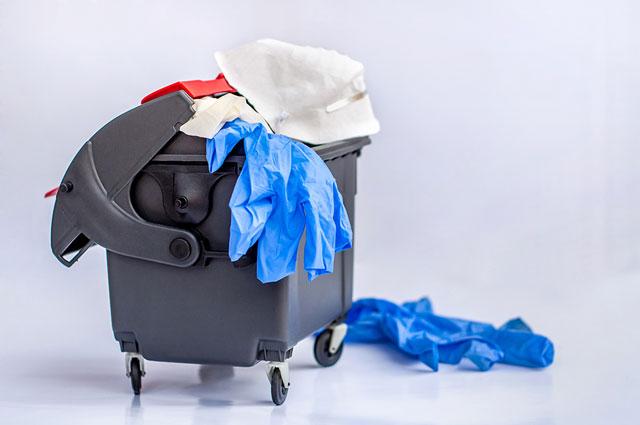coronavirus waste disposal