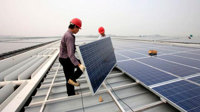 solar panels - Uyghurs China